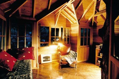 tree-house interior