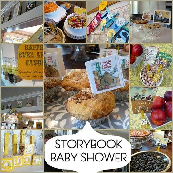 Storybook Baby Show: Cute!  Would love this with old children's books