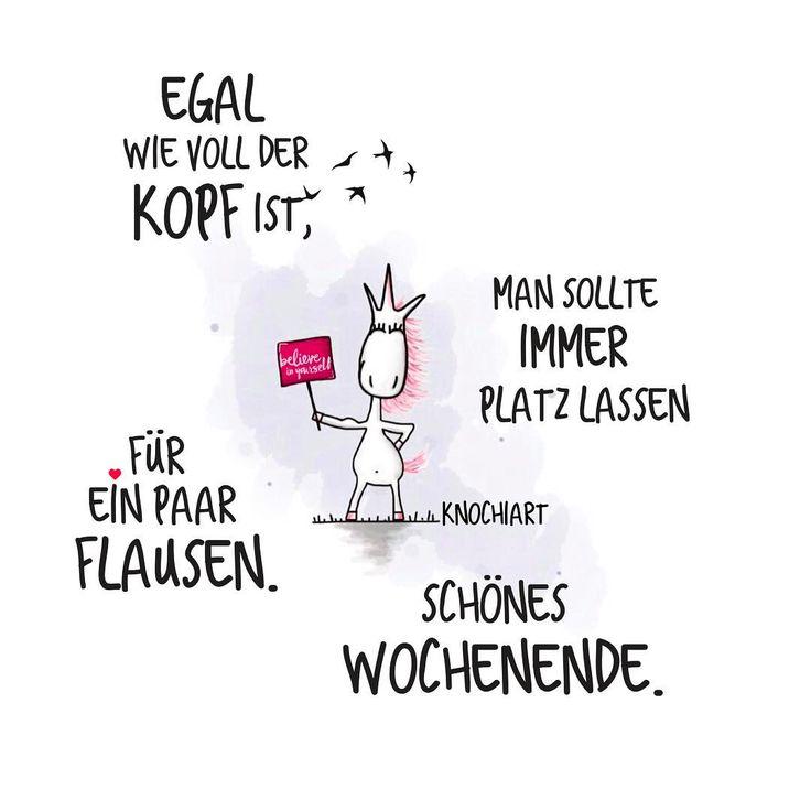 Bessere Zeiten werden kommen …Sie heißen: #Samstag und #Sonntag ☀️ #happyweekendeveryone #Sprüche #motivation #thinkpositive ⚛ #frühling #unicorn #einhorn #believeinyourself...