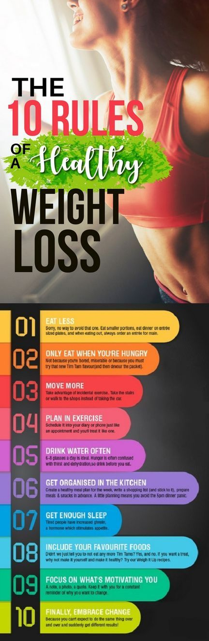The 10 Rules of Weight Loss That Lasts