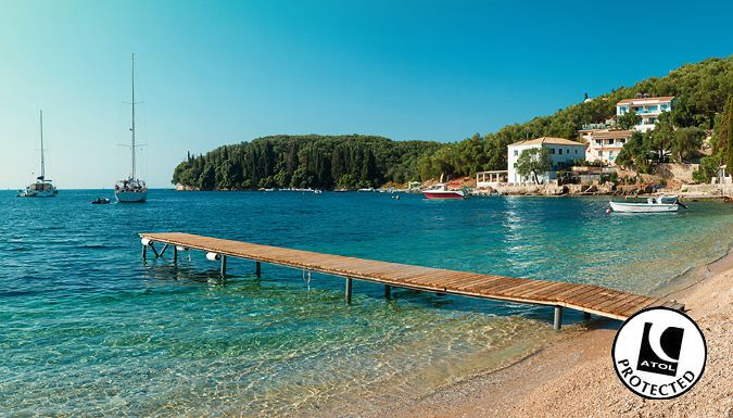 Corfu, Greece: 3-7 Night 4* All-Inclusive Hotel Stay With Flights - Up to 70% Off Jet off for an all-inclusive paradise island holiday with a 3, 5 or 7-night stay in Corfu      All meals and drinks are included - ideal for a stress-free escape      Kick back in true luxury at the 4* Mareblue Beach Hotel      Winner of the 2015 TripAdvisor Certificate of Excellence      Home to 3 on-site...