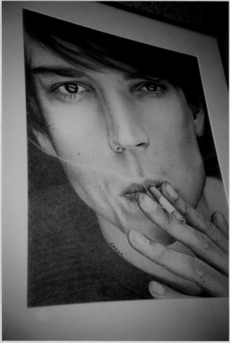 Alex/Smoke #alexjames #blur
