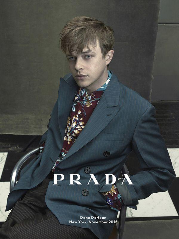 俳優デイン・デハーンの魅力の本質に迫った、[PRADA]の2014年春夏メンズ広告キャンペーン。 | NEWS | EYESCREAM.JP - For Creative Living