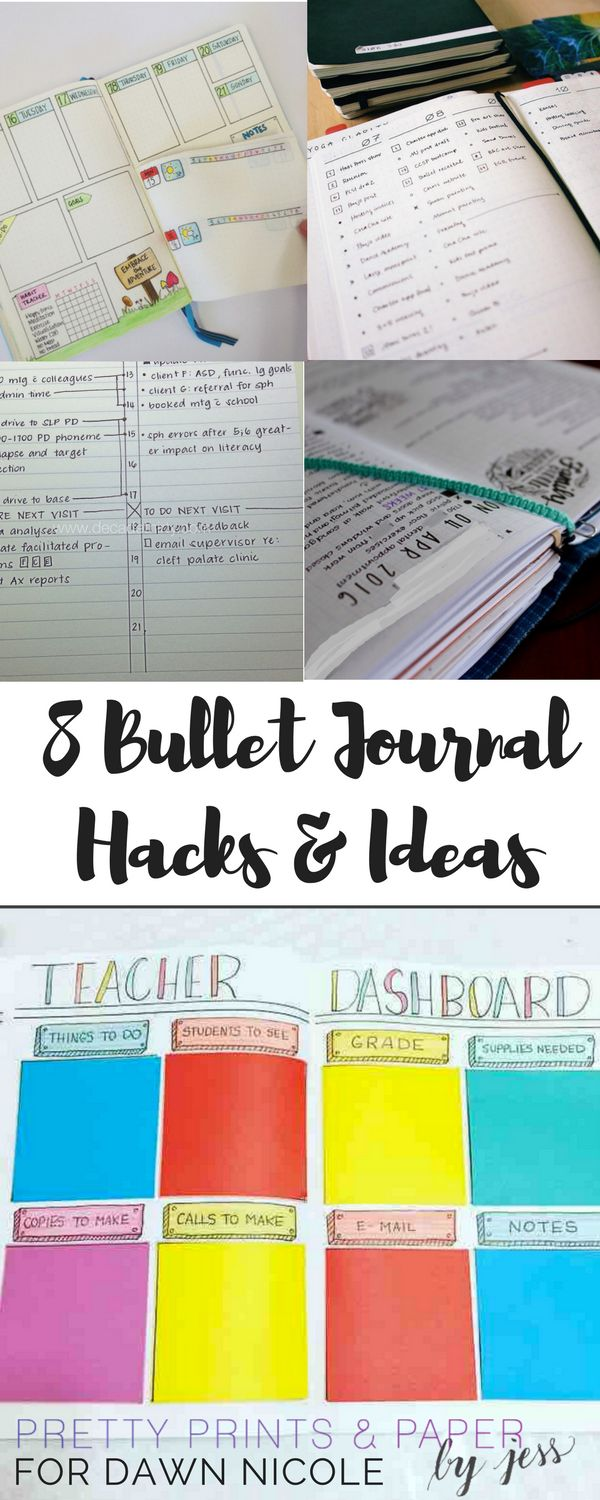 There are so many ways you can customize your bullet journal - here are a few ideas and hacks that might make your system even better.