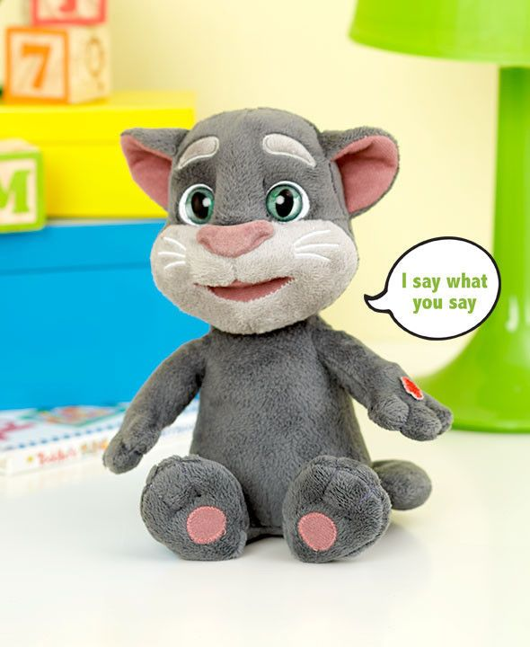 Talking Toys 145945: Plush Talking Tom Cat Kid S Toy Christmas Birthday Gift Repeats What You Say -> BUY IT NOW ONLY: $30.2 on eBay!