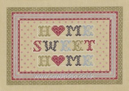 Heart Home Sweet Home - Sew and So