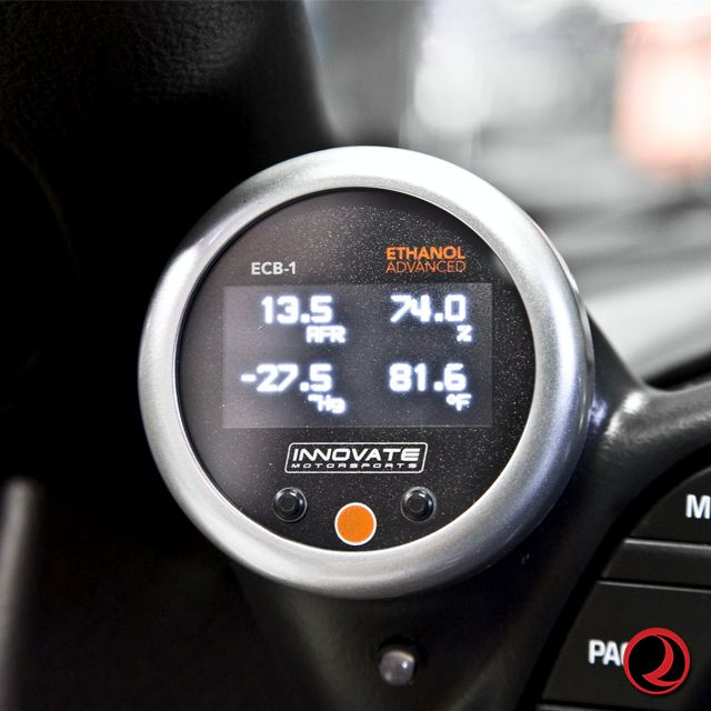Innovate ECB-1: (BOOST) ETHANOL CONTENT AND AIR/FUEL RATIO GAUGE PN:3911