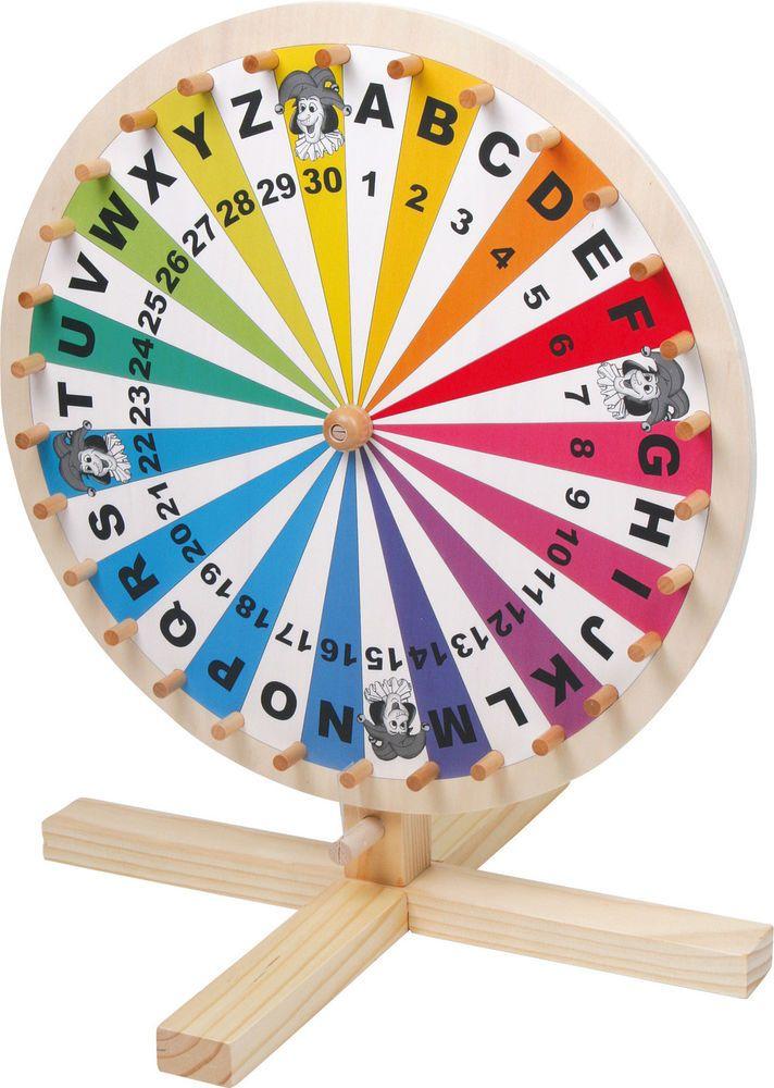 Roue de la fortune jeu de lettres loterie tombola * NEUVE