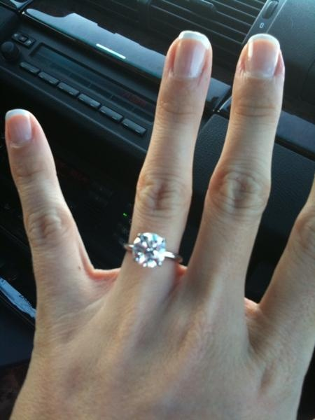 3 carat round solitaire 6 prong settingmy dream classic engagement