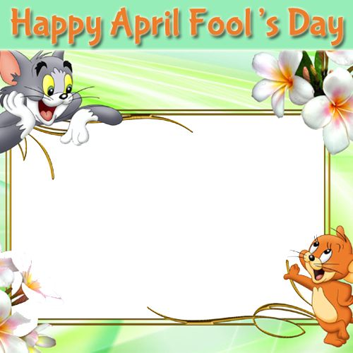 Tom and Jerry Frames For April Fool Greeting With Your Photo.Create April Fool Frame Greeting With Custom Photo.Personalize April Fool Greeting Online.Print Photo on April Fool Frame Pics.Whatsapp April Fool Pics With Your Photo.Customize Beautiful and Funny Photo Frame Pics For Happy April Fool 1st April Special Profile Pics With Your Photo on it.Create Your Photo Greeting Online With Name For April Fool Celebration.Best Wishes For April Fool Celebration With Your Photo.