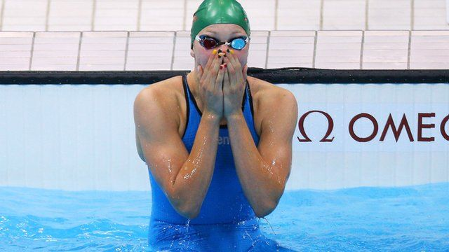 "Ruta Meilutyte Lithuania  ""We didn't realistically know what she would do,"" her coach said after the 15 year old swam to a surprise gold."