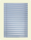 Metal blinds combine quality and value for a refined, contemporary look. Metal blinds are generally made from aluminium, which is easily wiped clean for fast and simple maintenance. Metal blinds are available in an array of colours, and provide a neat, clean appearance to any room.