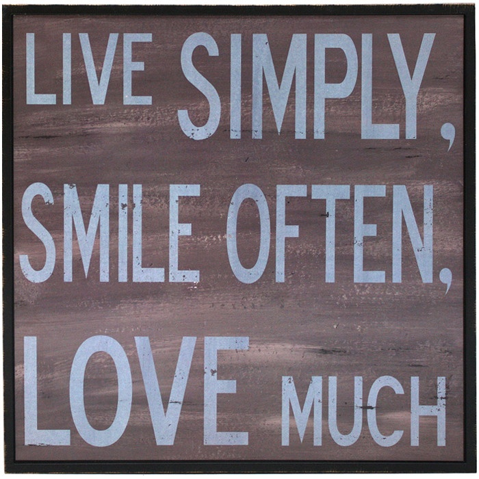 I have this in my home over the door living area!! Love:)