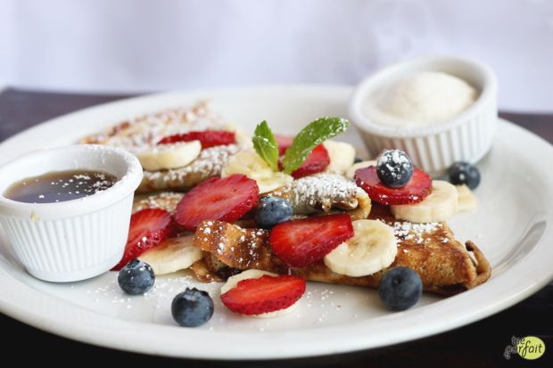 nutella french #crepes :: Mauro Cafe at Fred Segal, Los Angeles