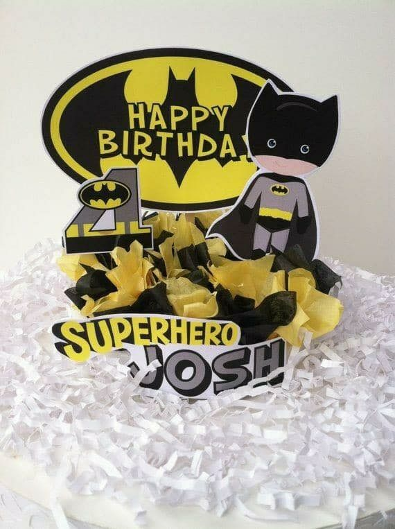 177 best Batman Birthday Party images on Pinterest Superhero