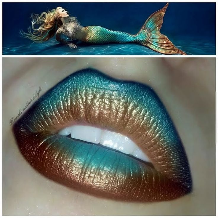 Preen.Me #makeup artist Rumah S creates ombrelicious puckers fit for your inner mermaid. Check out the details of her look here.