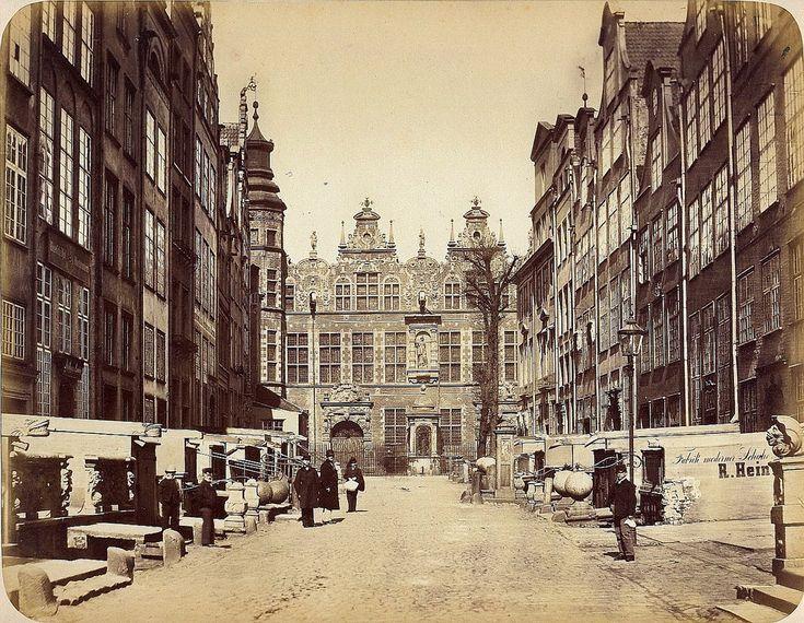 Danzig/Gdańsk - The Great Armoury, 1865