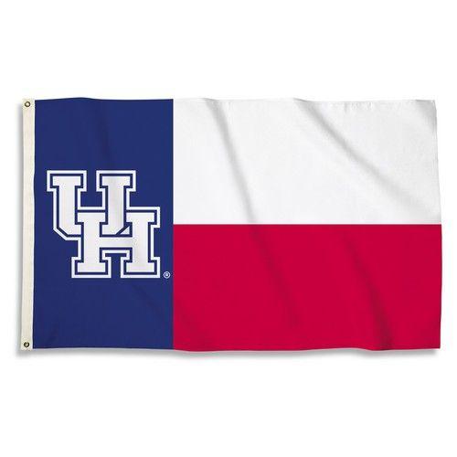 University of Houston Large Grommet Flag Banner