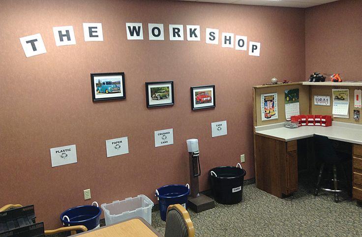 workshop set-up