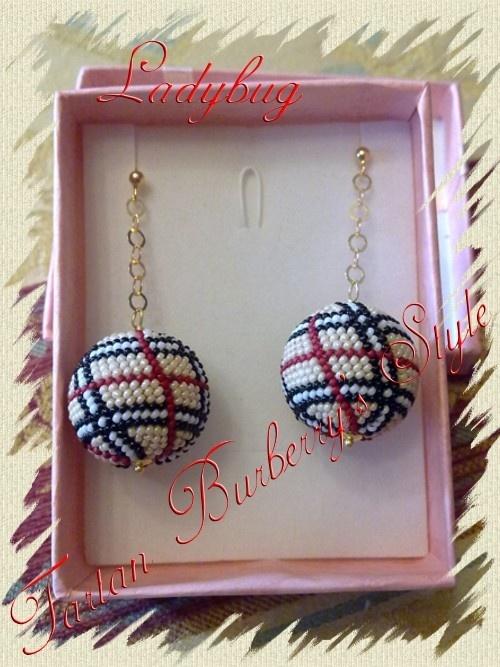 Beaded bead- love the pattern!