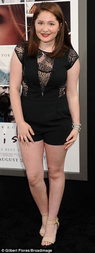 Fancy seeing you here: Shameless stars Danika Yarosh (L) and Emma Kenney were both at the bash