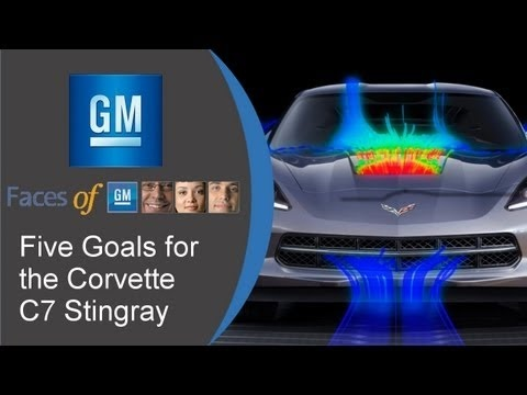 Five Goals for the Corvette C7 Stingray: Kirk Bennion - Faces of GM