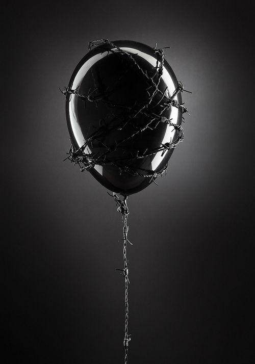 Thorned balloon