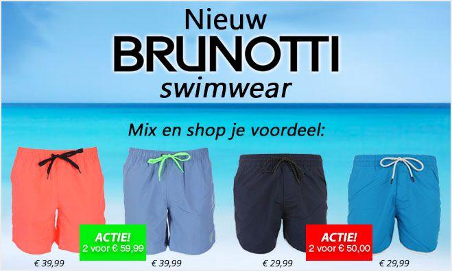 NIEUW BINNEN: BRUNOTTI!  Ook de zwembroek la kan wel weer eens een opruimbeurt gebruiken en ingeruimd worden met nieuwe zwembroeken. Brunotti helpt daarbij.   Nu 10 of 20 euro VOORDEEL shoppen met 2 Calbero óf 2 Graham zwembroeken. Kies uit de zomerse kleurtjes en/of maten en shop daarmee je grote voordeel!  #brunotti #zwembroeken #zwembroek #bikini #calbero #graham #voordeel #voordeelshoppen #swimwear #surfen #kitesurfen #boxershort #boxershorts #underwear #swimshort #zwemshort #twyst…