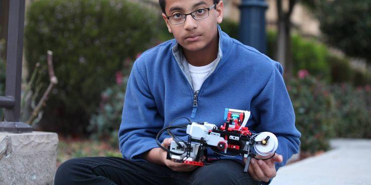 Shubham Banerjee, 12 ans, est l'inventeur d'une imprimante braille qui a la particularité d'être faite en Lego Mindstorms.