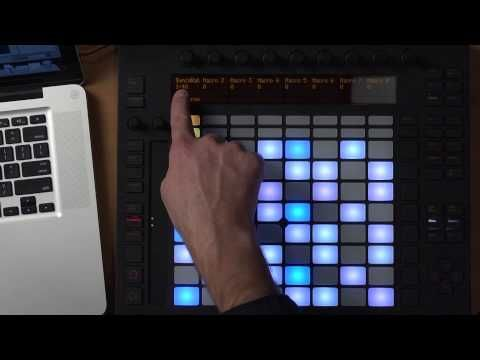 Creating a Performance Tool Using Ableton Live 9 and Push - YouTube