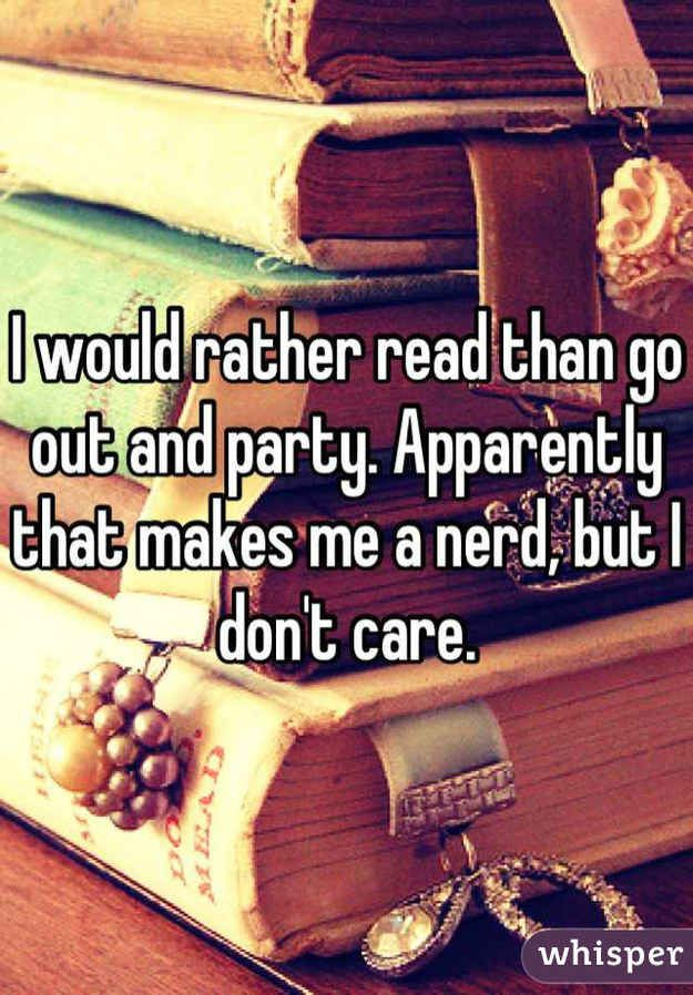 Sometimes you feel alone because of how you prioritize books over everything else. | 31 Confessions Any Book Lover Will Understand
