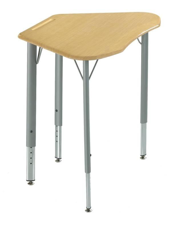 KI Intellect Wave Trapezoid Desk With Laminate Top   20 1/2 X 32 X ·  Student DesksSchool FurnitureSchool ...