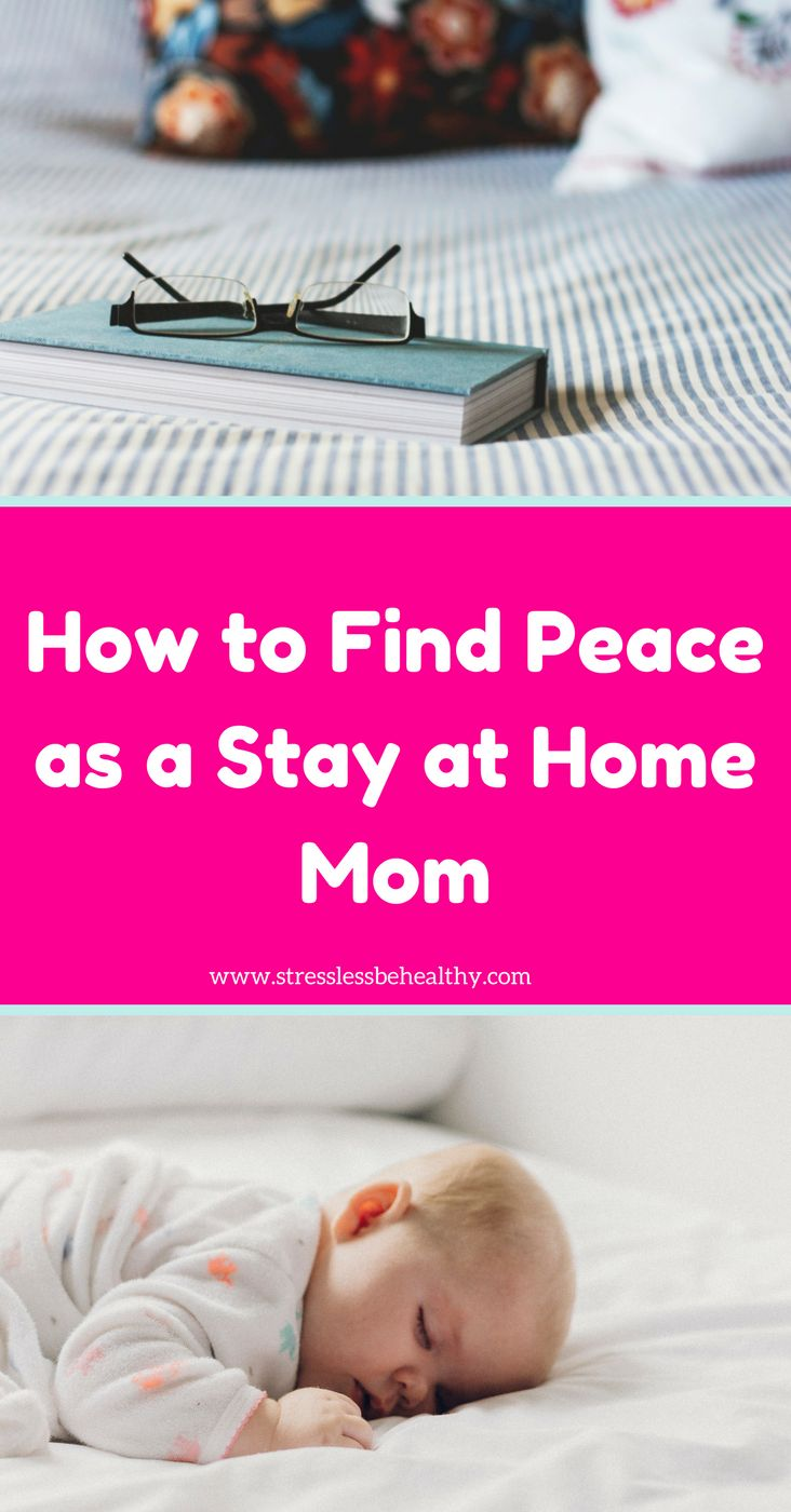 How to find peace as a stay at home mom! Are you stressed, do you stay home with kids all day, or stuck home because of the snow? Get some tips on how to stay sane with kids!