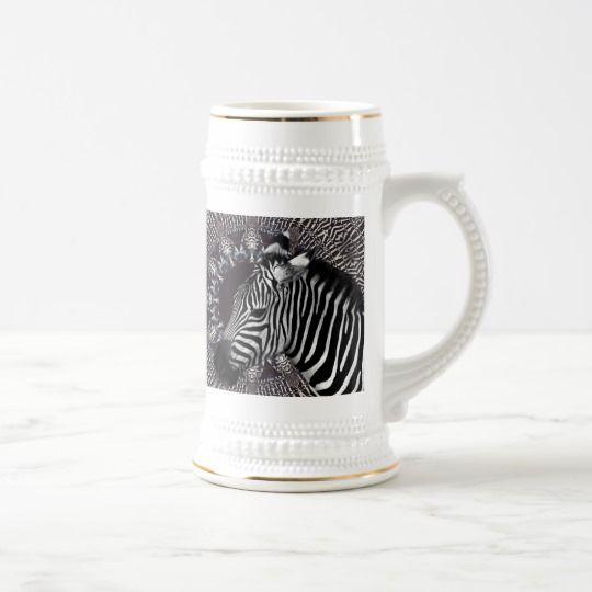 Zebra Art Stein