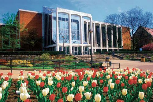 The Mountainlair, West Virginia University. Named the second-best student union in 2013. #WVU