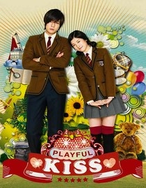 Playful Kiss. Everyone should watch this Korean drama. I love it. I wish there were soaps like this here in the US. It's on Netflix!! Watch it. It's cute. You totally fall in love with Beck Seung Jo and Oh Ha Ni. :)