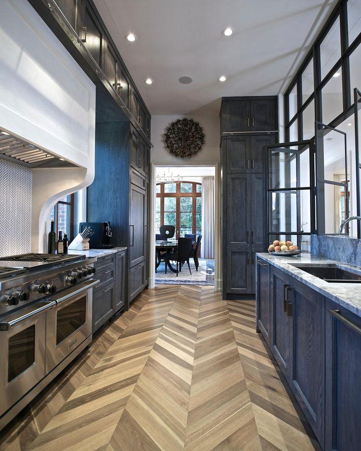 HGTV Fresh Faces of Design - Kitchen + Dining: Chevron Floor in Small Kitchen by Joel Kelly >> http://www.hgtv.com/design/fresh-faces-of-design/2015/kitchen-dining?soc=pinterest