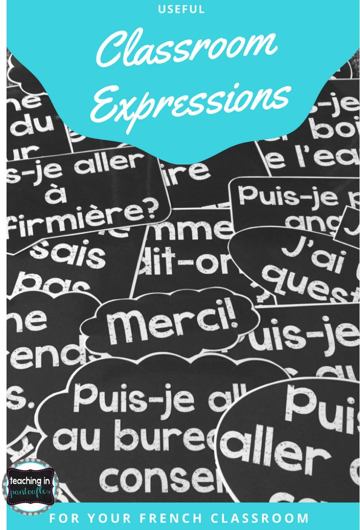 These useful French Classroom Expression Posters will decorate your classroom and keep your students speaking French! Click to see more.