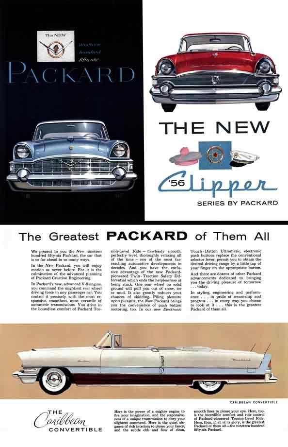 351 best Packard ..car brochures images on Pinterest | Old school ...