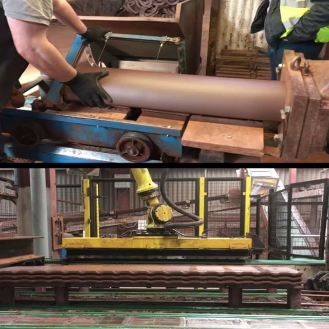 AJA reality trip (CPD) to the Dreadnought Tile works; stuff being made. #Tiles #Brick #Artesan #Makers #Craft #Video #Industry #Construction #Architecture #Building #Clay #MakersGonnaMake #Machines #Production #RoofTiles #AdrianJamesArchitects #Dreadnought