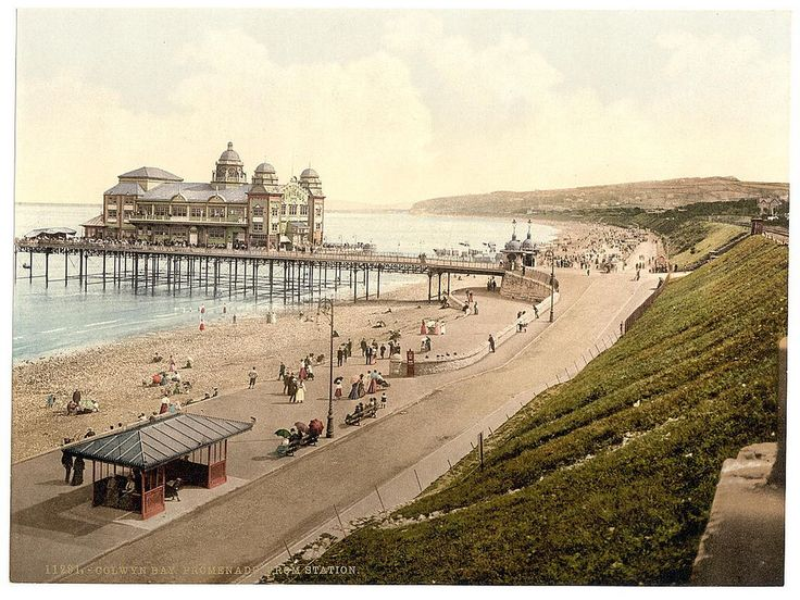 Colwyn Bay Victoria pier in all it's glory! Sadly it is almost gone now as it is slowly being dismantled.