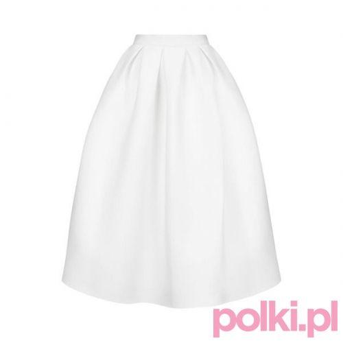 Neoprenowa spódnica Topshop #polkipl