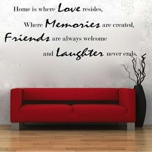 Wall Quotes 43e | Family Quotes | TrendyWallDesigns.com