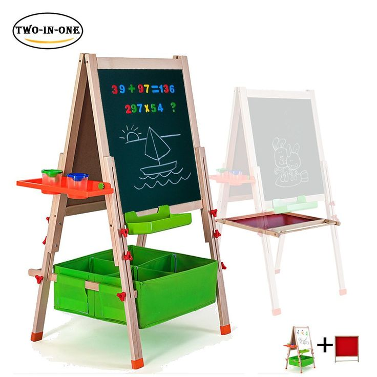 Deluxe easel for kidsgimilife folding wooden