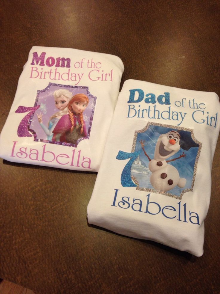 Mom of the birthday girl, dad of the birthday girl, frozen family shirts, mom frozen shirt, dad frozen shirt by SaraSewtique on Etsy https://www.etsy.com/listing/218262092/mom-of-the-birthday-girl-dad-of-the