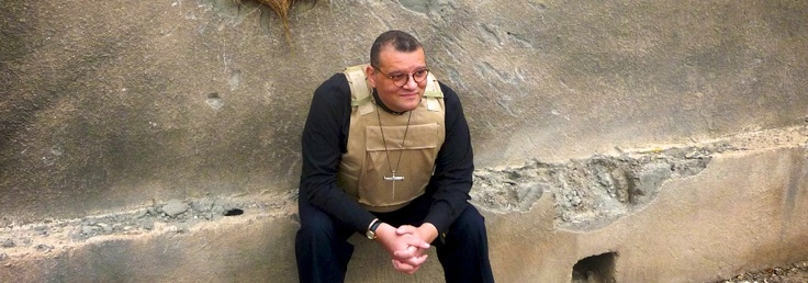 Canon Andrew White - the Vicar of Baghdad