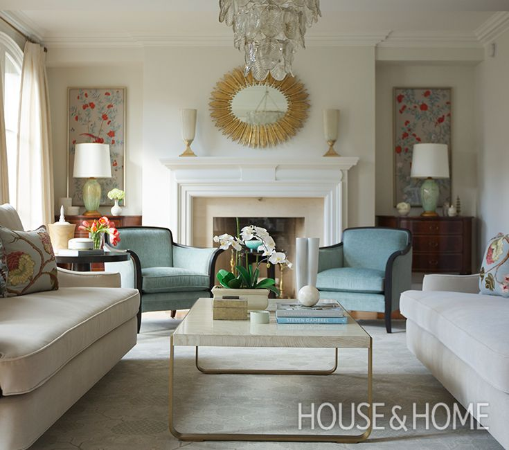 A Traditional Living Room With 1930s Glamor Inspired By Pre War  Architecture In NYC. Part 85
