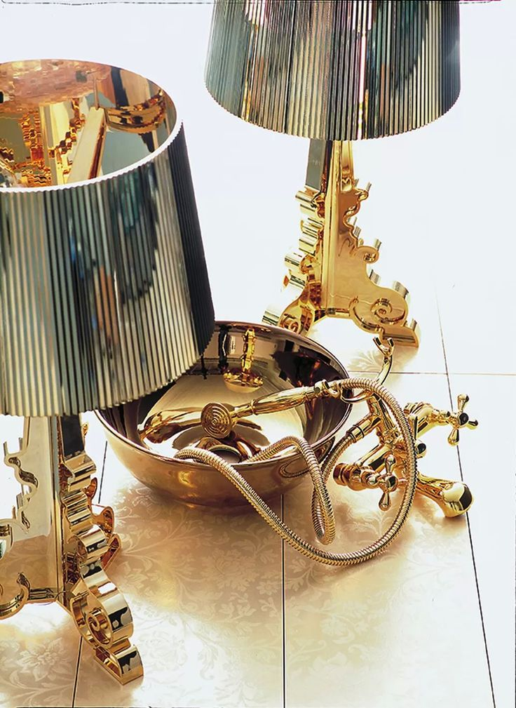 Kartell Bourgie by Philippe Starck - Gold & Precious - Ph. Marie Claire Maison - Iconic design