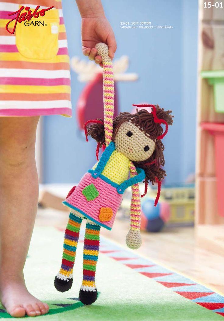 Wonderful Amigurumi rag doll.