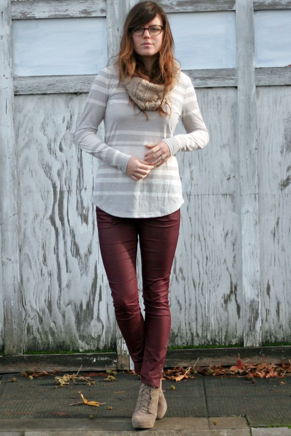 Portland Street Style: Grey Outfit